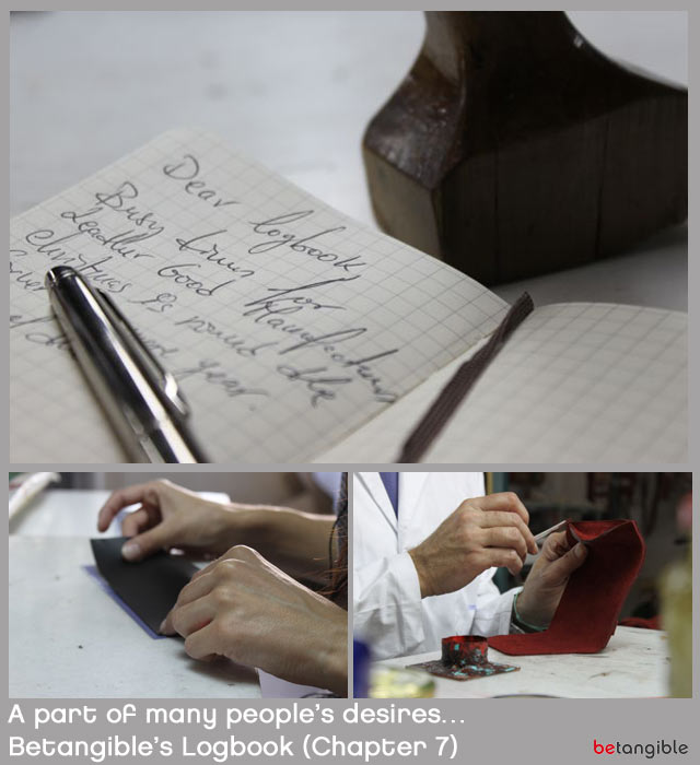leather goods workshop spain betangible logbook chapter 7 A part of many people's desires… Betangible's Logbook (Chapter 7)
