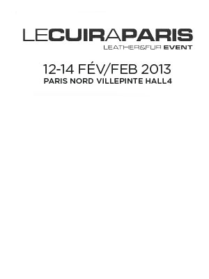 le cuir a paris leather fur event paris What's out there in January and February?… Leather Goods Shows, Trade Fairs and Commercial Actions