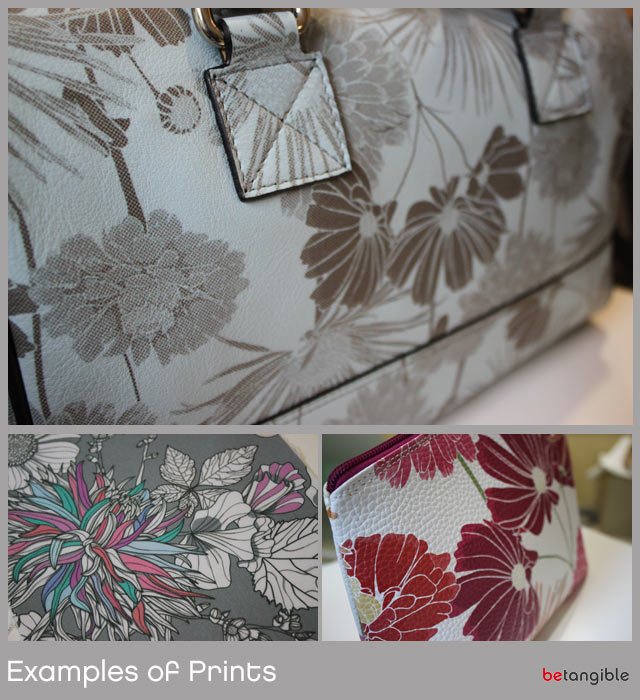 pileus examples of leather prints Leather Printing and Customisation … Pileus