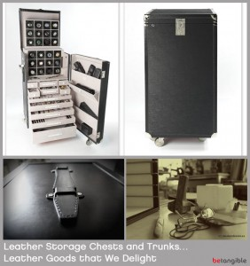 Leather Storage Chest and Trunks - Leather Goods That we Delight