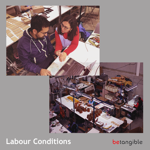 Labour Conditions as Leather Goods Manufacturer in Ubrique