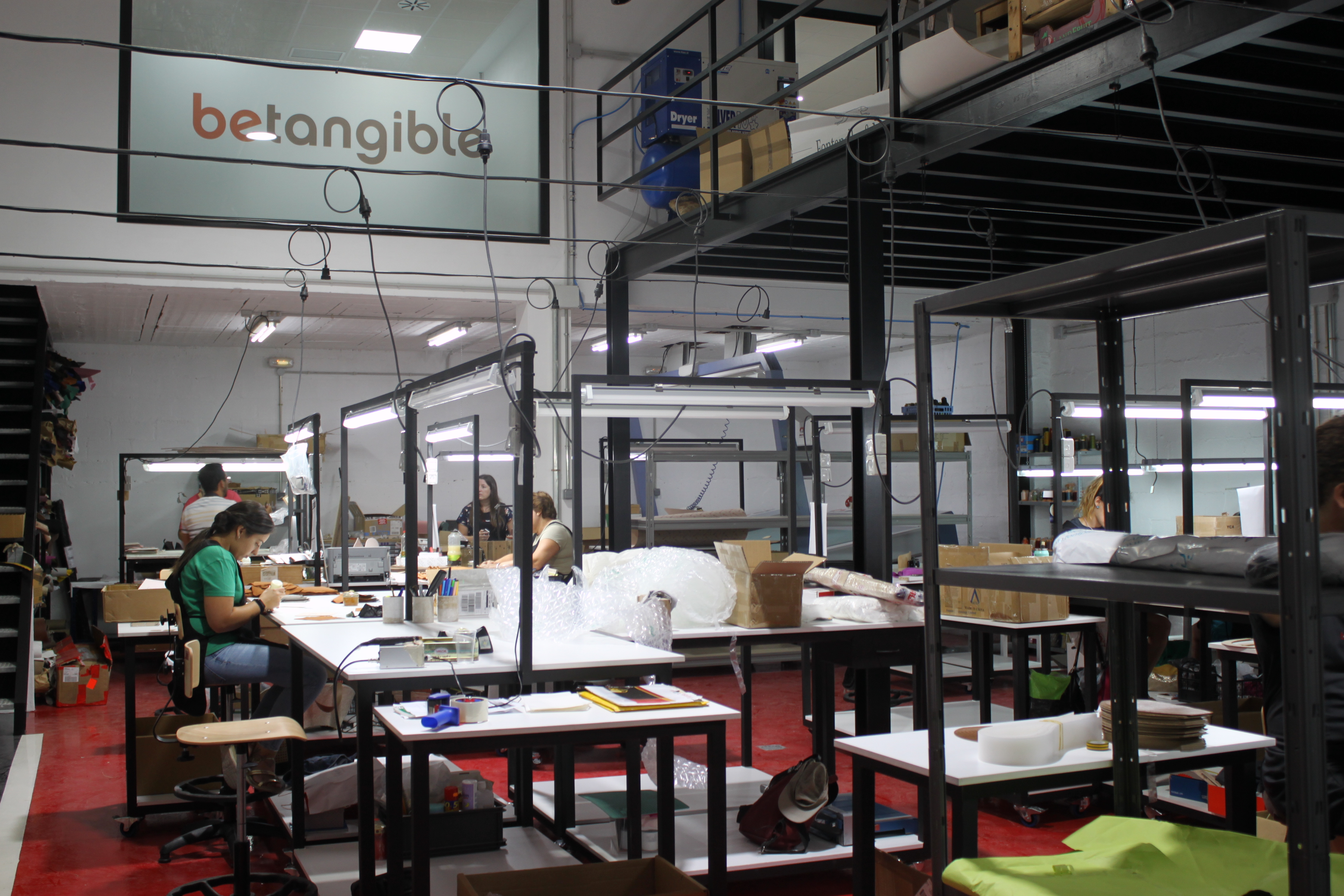 Betangible new factory