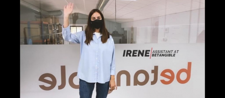 Introducing our team: Irene.