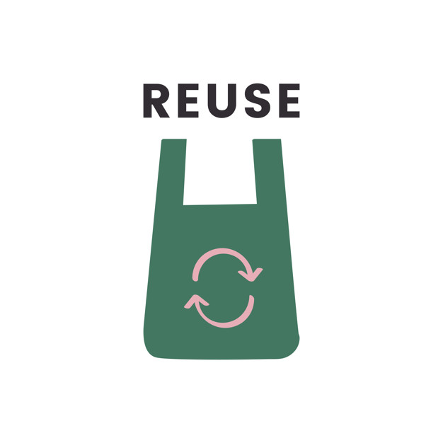 Recycle, Reuse and Produce in a sustainable way.