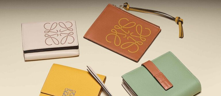 Special attention to the details… LOEWE Small Leather Goods